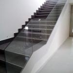 Balustra d'arredamento in cristallo - Roma - VetroeXpert - Balaustre Parapetti Recinzioni