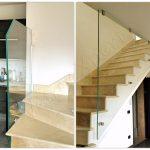 Collage Balaustre di sicurezza in vetro - Roma - VetroeXpert - Balaustre Parapetti Recinzioni