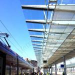 Copertura Stazione Tiburtina Roma - VetroeXpert - Coperture e Pensiline
