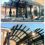 Coperture e Pensiline ad arco - Roma - VetroeXpert - Coperture e Pensiline