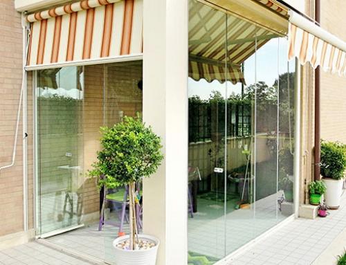Vetrate panoramiche e Vetrate pieghevoli Glassroom