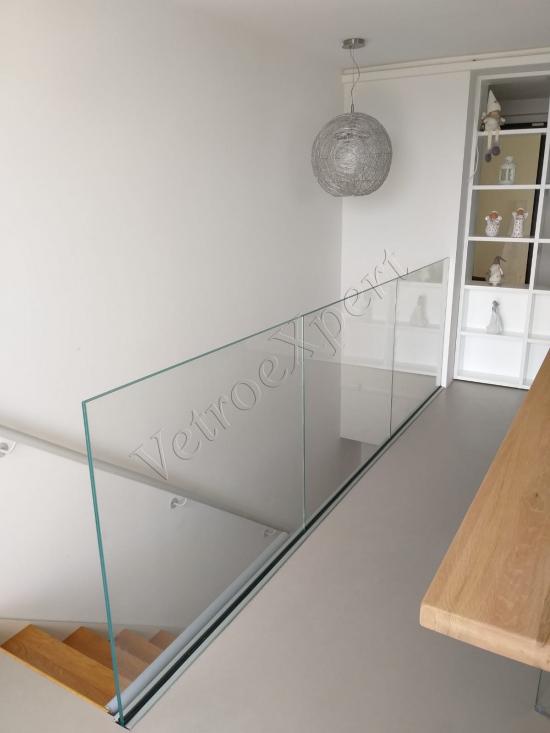 Balaustra in vetro Roma - VetroeXpert