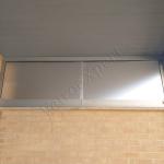 Lucernaio in vetro satinato su Misura - Roma - Vetreria VetroeXpert
