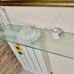 Mensole in vetro su misura - Roma - VetroeXpert - Arredo in cristallo