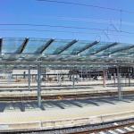 Panoramica Stazione Tiburtina Roma - VetroeXpert - Coperture e pensiline