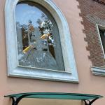 Pensilina in vetro satinato - Roma - VetroeXpert - Coperture e Pensiline