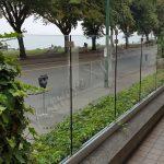 Recinzione In Vetro Trasparente 01 Roma VetroeXpert Balaustre Parapetti Recinzioni