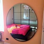 Specchio ovale su misura - Roma - VetroeXpert - Arredo in cristallo