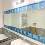 Specchio su misura con angoli stondati - Roma - VetroeXpert - Arredo in cristallo
