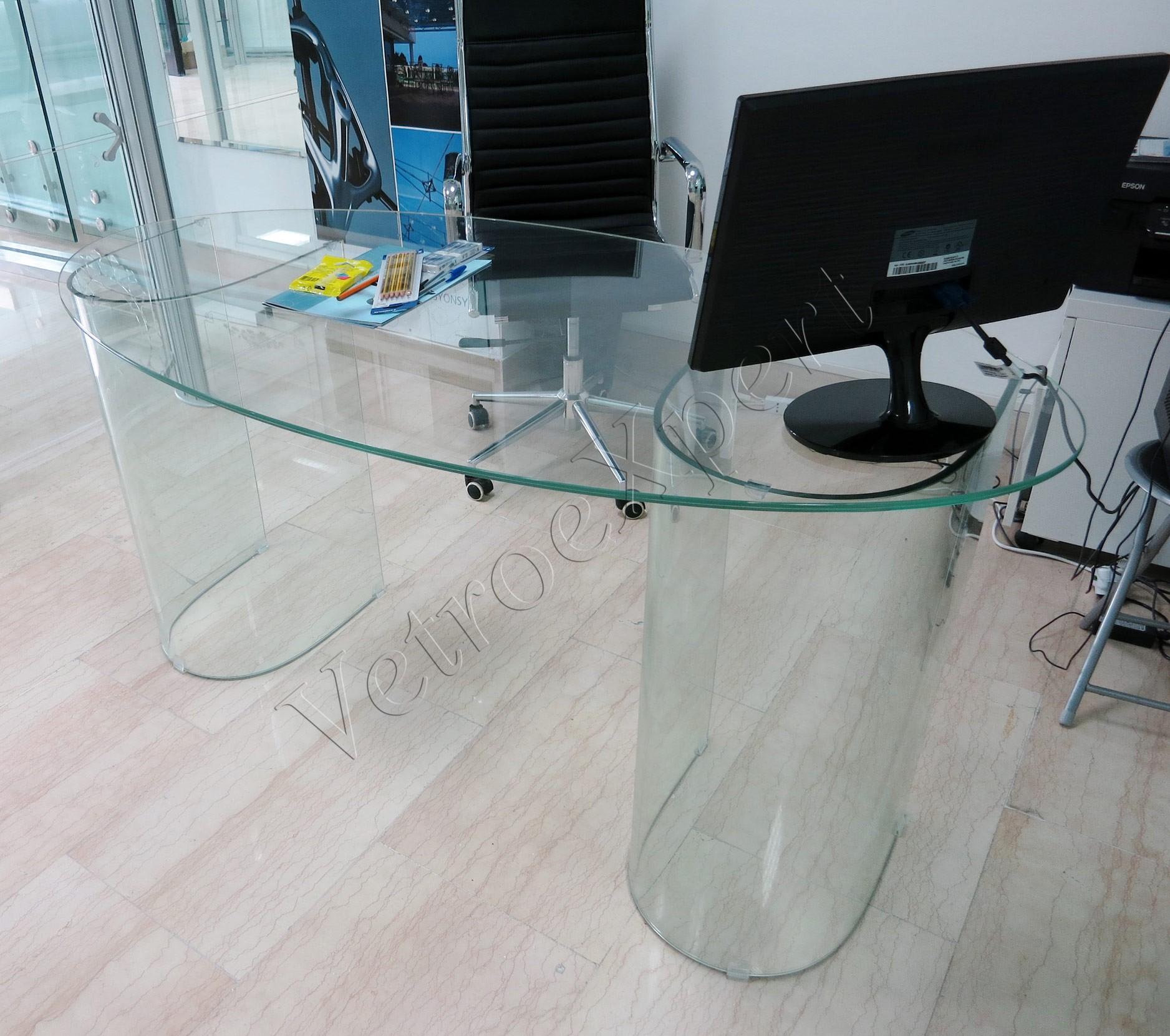 Piano Tavolo Vetro Su Misura.Arredo In Cristallo E Soluzioni Per Interni Vetroexpert Roma