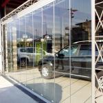 Vetrata a pacchetto Concessionario automobili - Roma - VetroeXpert - Coperture e Pensiline