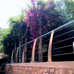 Balaustra con cavi in acciaio - Roma - VetroeXpert - Balaustre Parapetti Recinzioni