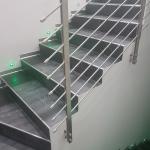 Balaustra in tondini di acciaio - Roma - VetroeXpert - Balaustre Parapetti Recinzioni