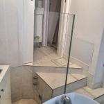 Balaustra da interno in cristallo temperato - Roma - VetroeXpert - Balaustre Parapetti Recinzioni