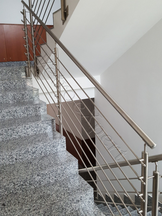 Balaustre In Acciaio - Roma - VetroeXpert - Balaustre Parapetti Recinzioni