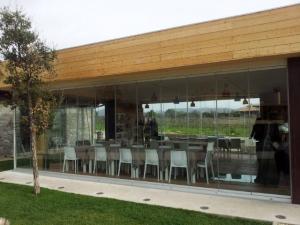 Vetrate a soffietto - Roma - VetroeXpert - Vetrate Pieghevoli e vetrate a scomparsa Glassroom