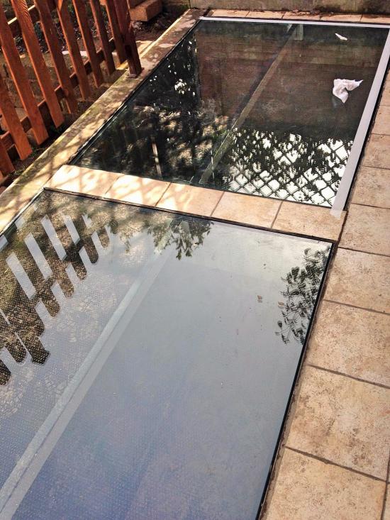 Doppio Pavimento in vetro temperato calpestabile - Roma - VetroeXpert - Scale Pavimenti Ascensori