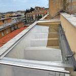 Pavimenti in vetro vista laterale - Roma - VetroeXpert - Scale Pavimenti Ascensori