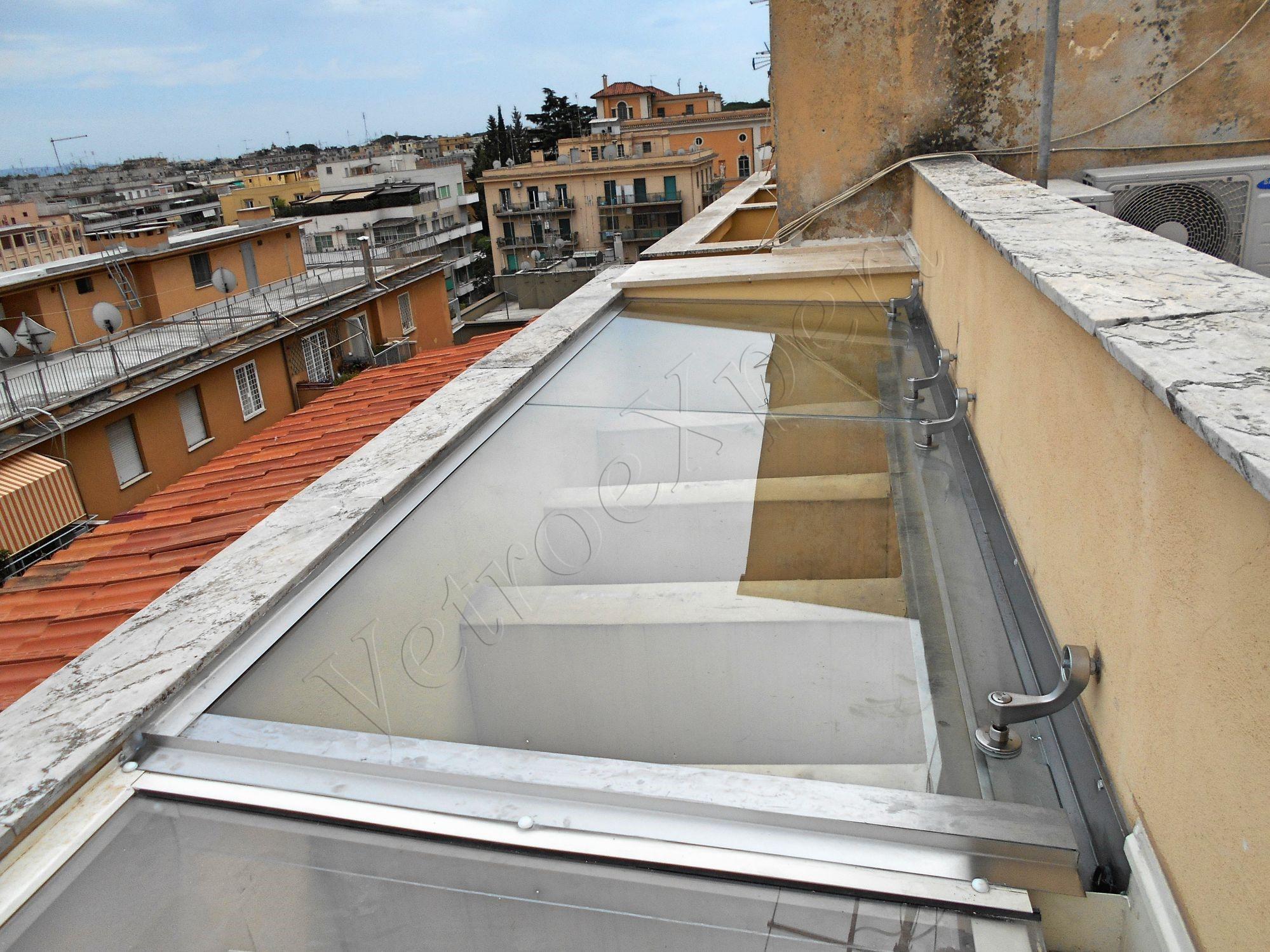 Pavimenti In Vetro Per Esterni scale pavimenti ascensori | vetroexpert - roma