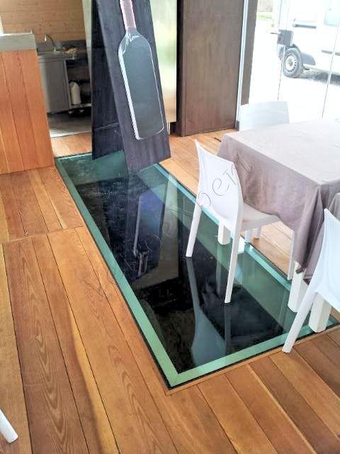 Pavimento calpestabile in vetro - Roma - VetroeXpert - Scale Pavimenti Ascensori