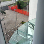 Pavimento in vetro extrachiaro - Roma - VetroeXpert - Scale Pavimenti Ascensori