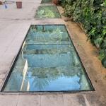 Pavimento su misura in cristallo - Roma - VetroeXpert - Scale Pavimenti Ascensori