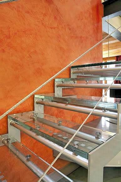 Scale in cristallo - Roma - VetroeXpert - Scale Pavimenti Ascensori