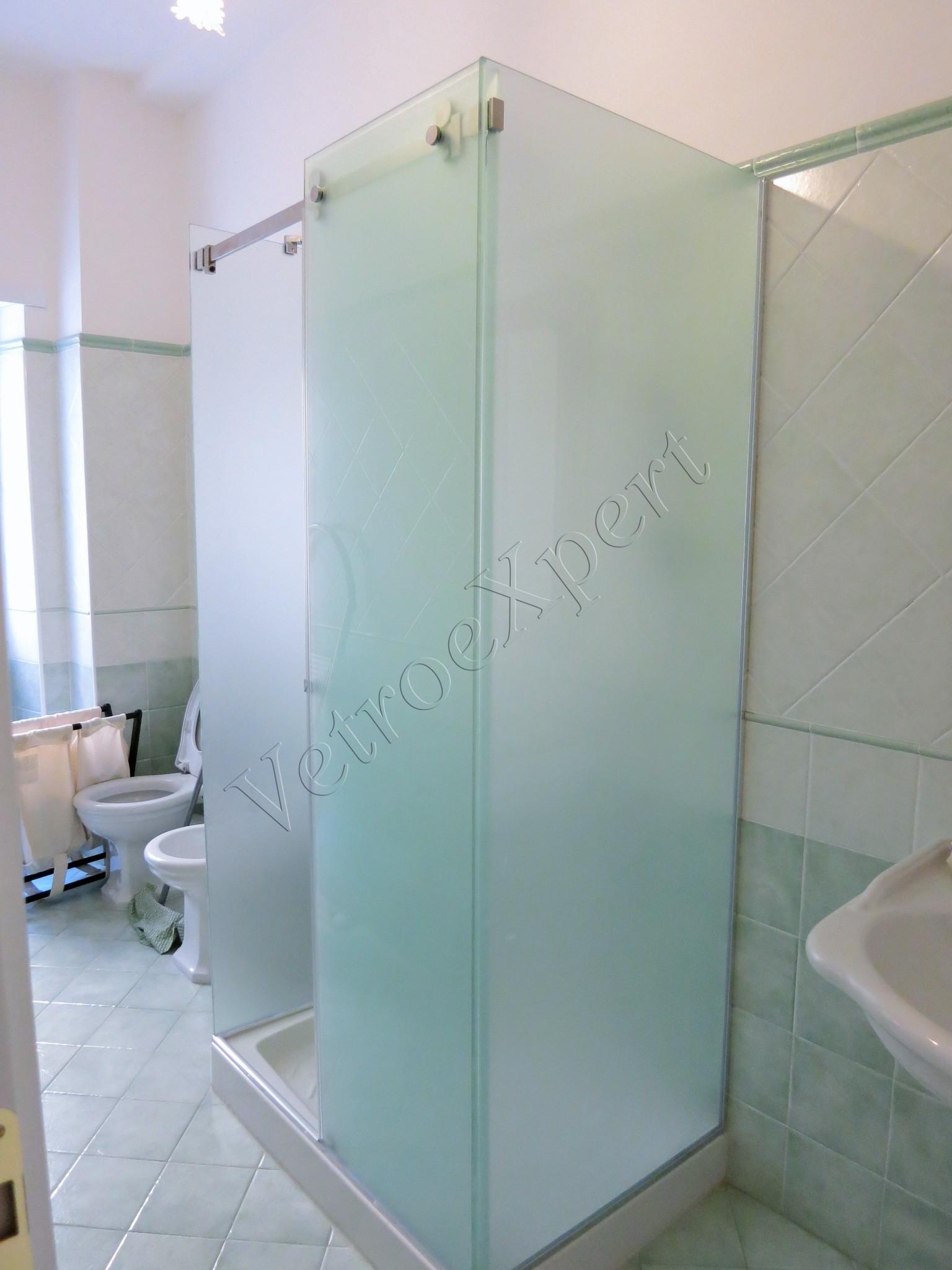 Box doccia in vetro temperato - VetroeXpert - Roma
