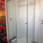 Box doccia con ante scorrevoli - Roma - VetroeXpert - Box doccia in cristallo temperato su misura