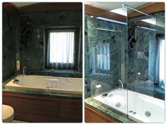Box doccia su misura copertura vasca - Roma - VetroeXpert - Box doccia in cristallo temperato su misura