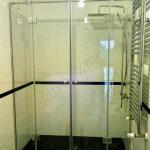 Box doccia su misura extrachiaro - Roma - VetroeXpert - Box doccia in cristallo temperato su misura