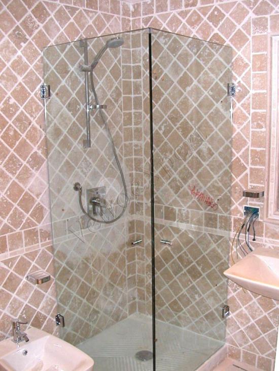 Cabina doccia - Roma - VetroeXpert - Box doccia in cristallo temperato su misura