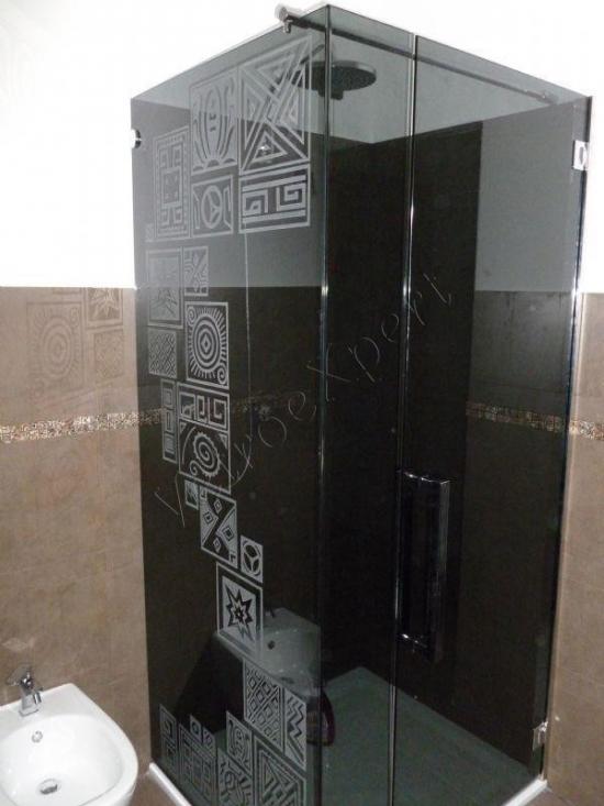 Cabina doccia in vetro temperato su misura - Roma - VetroeXpert - Box doccia in cristallo temperato su misura