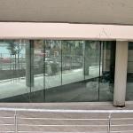 Cantiere Facciate continue Grandi magazzini - Roma - VetroeXpert - Vetrate continue a Facciata puntiforme