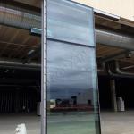 Cantiere Facciate continue - Roma - VetroeXpert - Vetrate continue a Facciata puntiforme