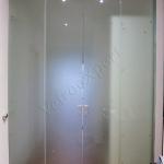 Doppia Porta scorrevole in vetro - Roma - VetroeXpert - Porte in vetro su misura e Pareti divisorie