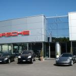 Facciate Continue Porsche Roma VetroeXpert Vetrate Continue A Facciata Puntiforme