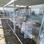 vetrata panoramica ristorante in vetro