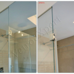 Guarnzione e cerniera - Roma - VetroeXpert - Box doccia in cristallo temperato su misura