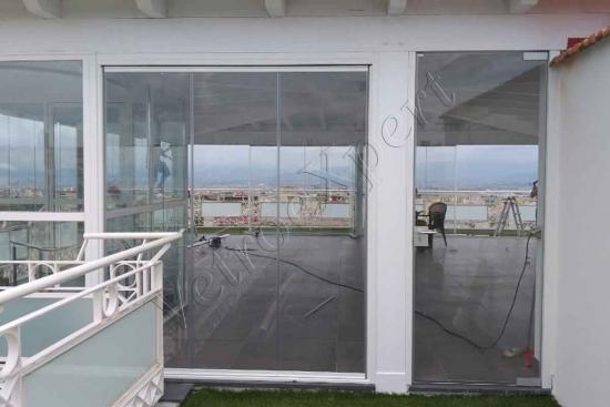 vetrata panoramica vetrata scorrevole