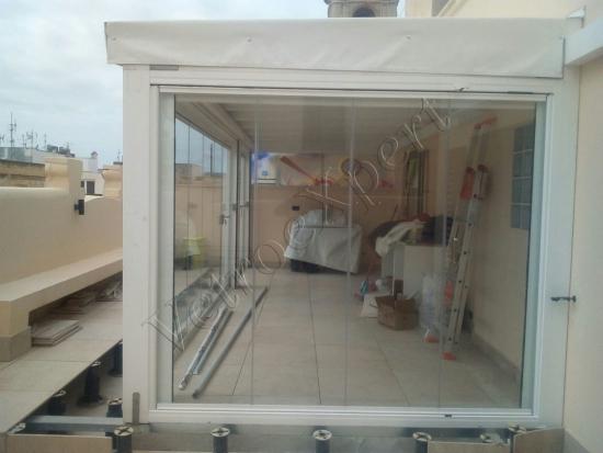 Intervento Di Installazione Vetrate Panoramiche Apacchetto In Sardegna Come è 2