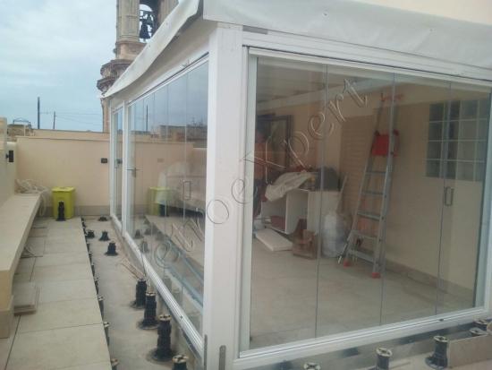 Intervento Di Installazione Vetrate Panoramiche Apacchetto In Sardegna Come è