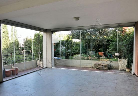 Montaggio Vetrate panoramica a pacchetto - Roma - VetroeXpert - Vetrate Pieghevoli e vetrate a scomparsa Glassroom