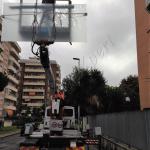 Montaggio con piattaforma particolare - Roma - VetroeXpert - Vetri speciali e Montaggi