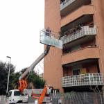 Montaggio speciale con piattaforma - Roma - VetroeXpert - Vetri speciali e Montaggi