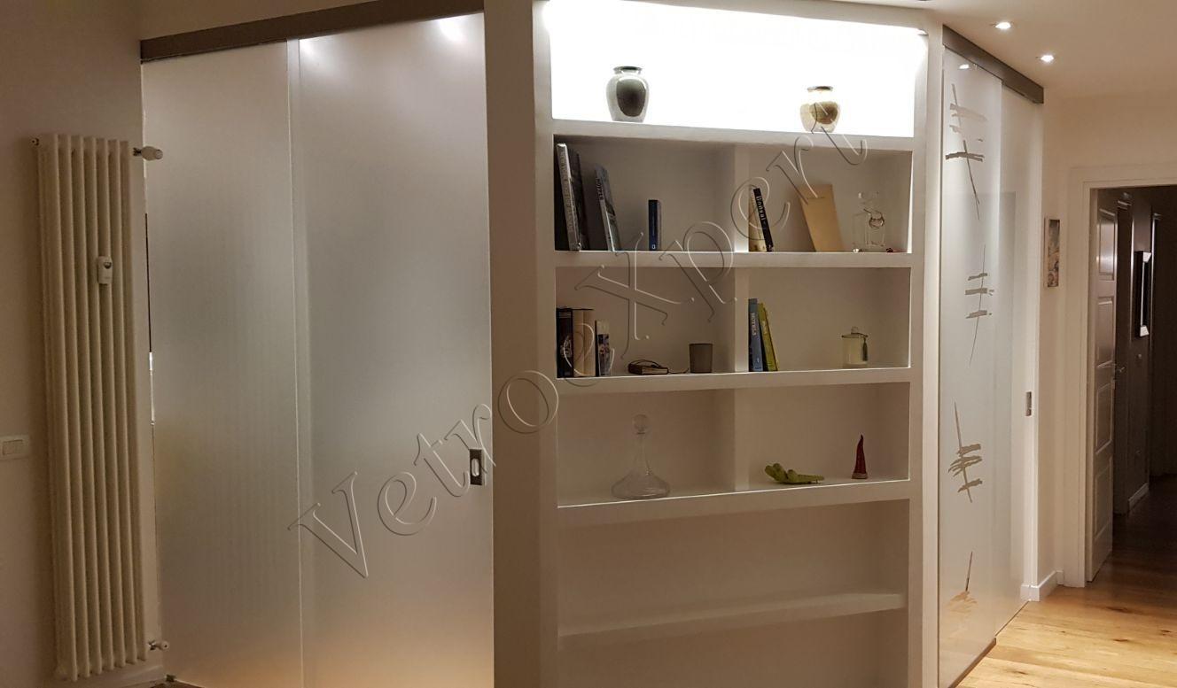 Pareti divisorie in cristallo vetroexpert roma for Pareti divisorie cucina soggiorno