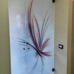 Porta in vetro a battente - Roma - VetroeXpert - Porte in vetro su misura e Pareti divisorie
