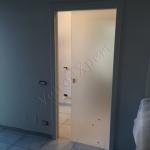 Porta Scorrevole In Vetro Satinato Extrachiaro Per Telaio Scrigno Porte In Vetro E Pareti Divisorie