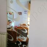 Porta temperata scorrevole satinata - Roma - VetroeXpert - Porte in vetro su misura e Pareti divisorie