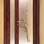 Porte in vetro decorate su misura - Roma - VetroeXpert - Porte in vetro su misura e Pareti divisorie